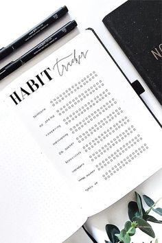 bullet journal en español habit tracker